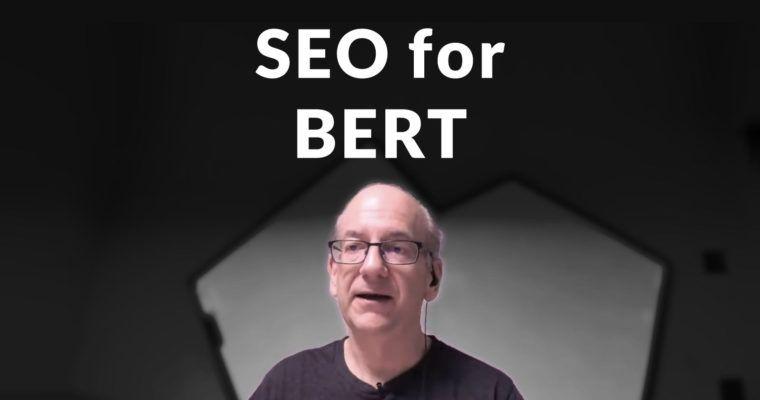 Google hướng dẫn cách để tối ưu cho thuật toán BERT